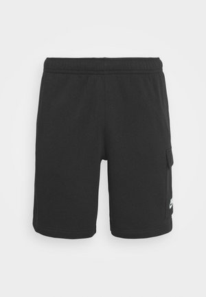 CLUB  - Tracksuit bottoms - black