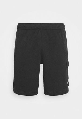 CLUB CARGO - Tracksuit bottoms - black
