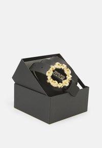 Versace Jeans Couture - VITELLO BELTS - Cintura - nero - 2
