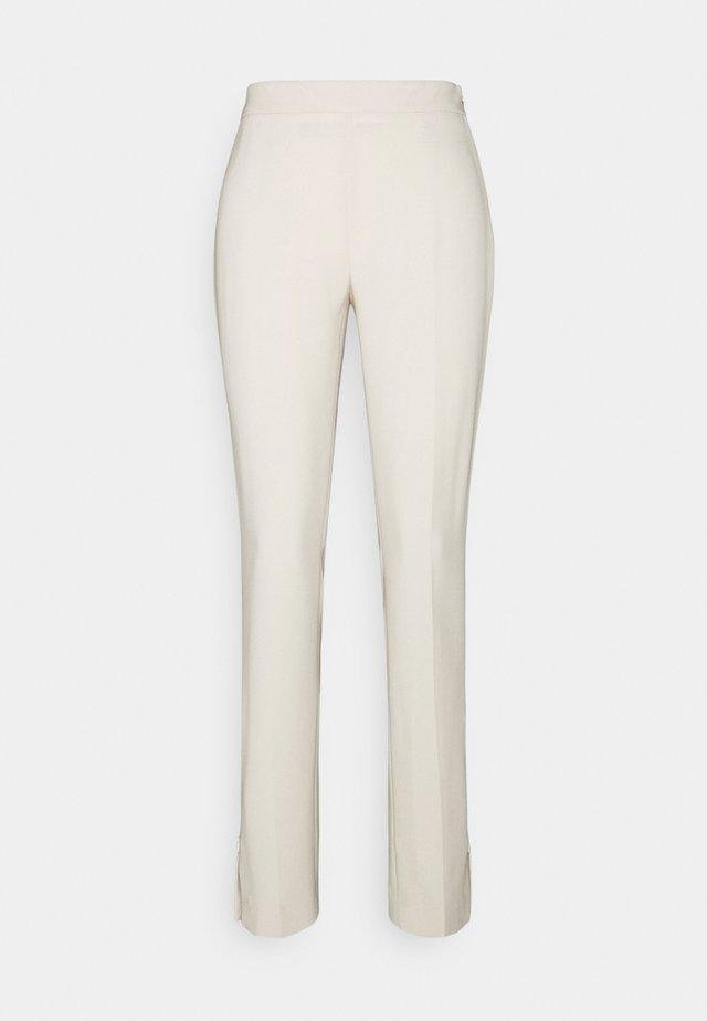 CINDY TROUSER - Kalhoty - soft beige
