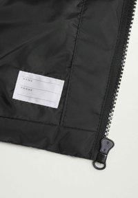 Mango - AMERVA - Waistcoat - black - 2