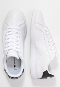 Lacoste - GRADUATE  - Trainers - white/black - 3