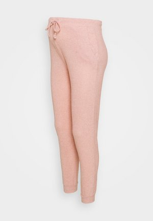 SOFT OVER BUMP - Tracksuit bottoms - blush