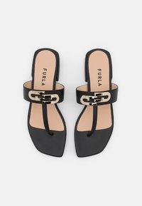 Furla - CHAIN THONG - T-bar sandals - nero - 4
