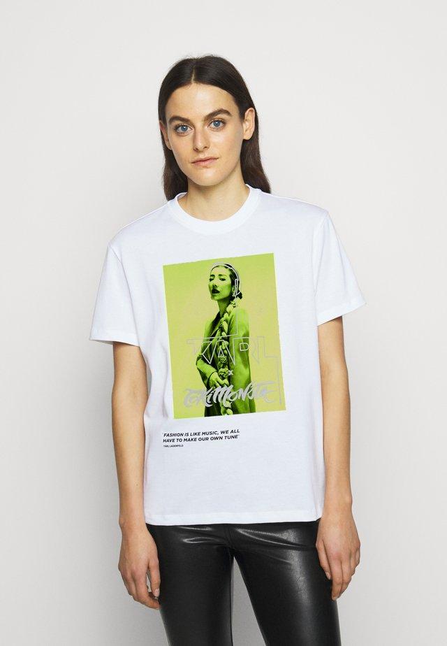 TOKIMONSTA - Print T-shirt - white