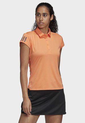CLUB 3-STRIPES POLO SHIRT - Koszulka sportowa - orange