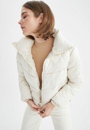 REGULAR FIT  - Winter jacket - beige