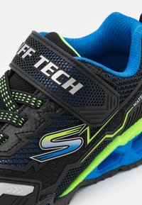 Skechers - HYDRO LIGHTS - Trainers - black/blue/lime - 5
