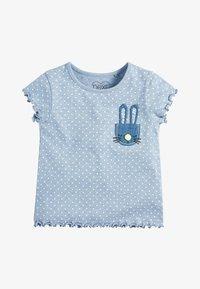 Next - BLUE SPOT BUNNY T-SHIRT (3MTHS-7YRS) - Print T-shirt - blue - 0