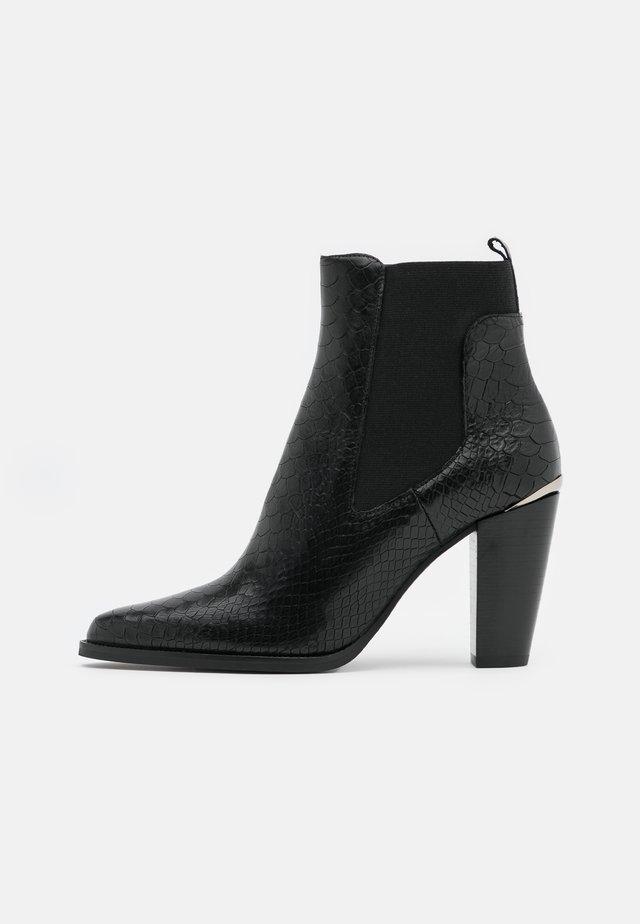 ALENA BOA - Korte laarzen - noir