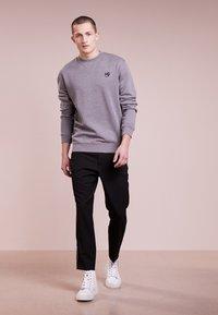 McQ Alexander McQueen - COVERLOCK - Sweater - stone gray melange - 1