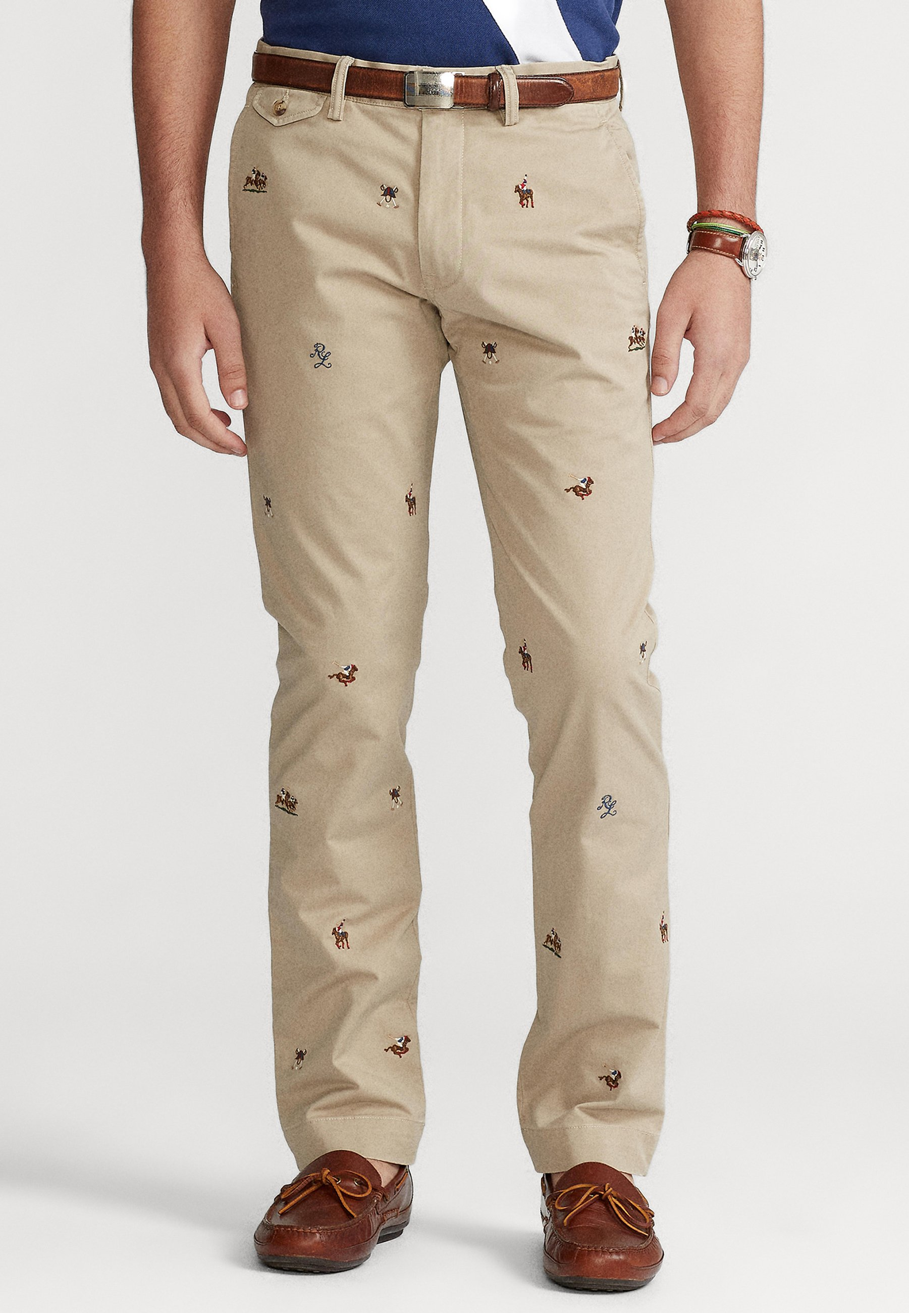 Homme SLIM FIT BEDFORD PANT - Chino
