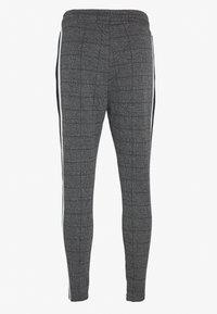 CLOSURE London - PANELLED CHECKED TROUSER - Pantalones deportivos - charcoal - 1