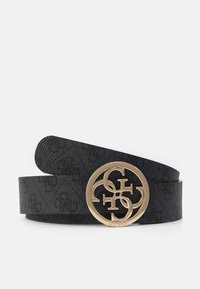 Guess - CATHLEEN PANT BELT - Riem - coal - 1