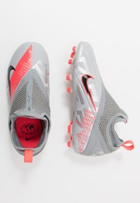 Nike Performance - PHANTOM VISION 2 ACADEMY FGMG - Moulded stud football boots - metallic bomber grey/black/particle grey - 0