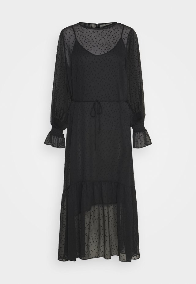 LULA MAXI DRESS - Maxiklänning - black