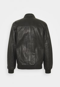 Pepe Jeans - BOB - Leather jacket - black - 1