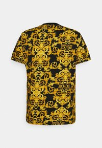 Versace Jeans Couture - STRETCH LOGO BAROQUE - Print T-shirt -  black - 7