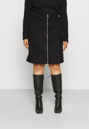 VIFADDY ZIP SKIRT - Pencil skirt - black