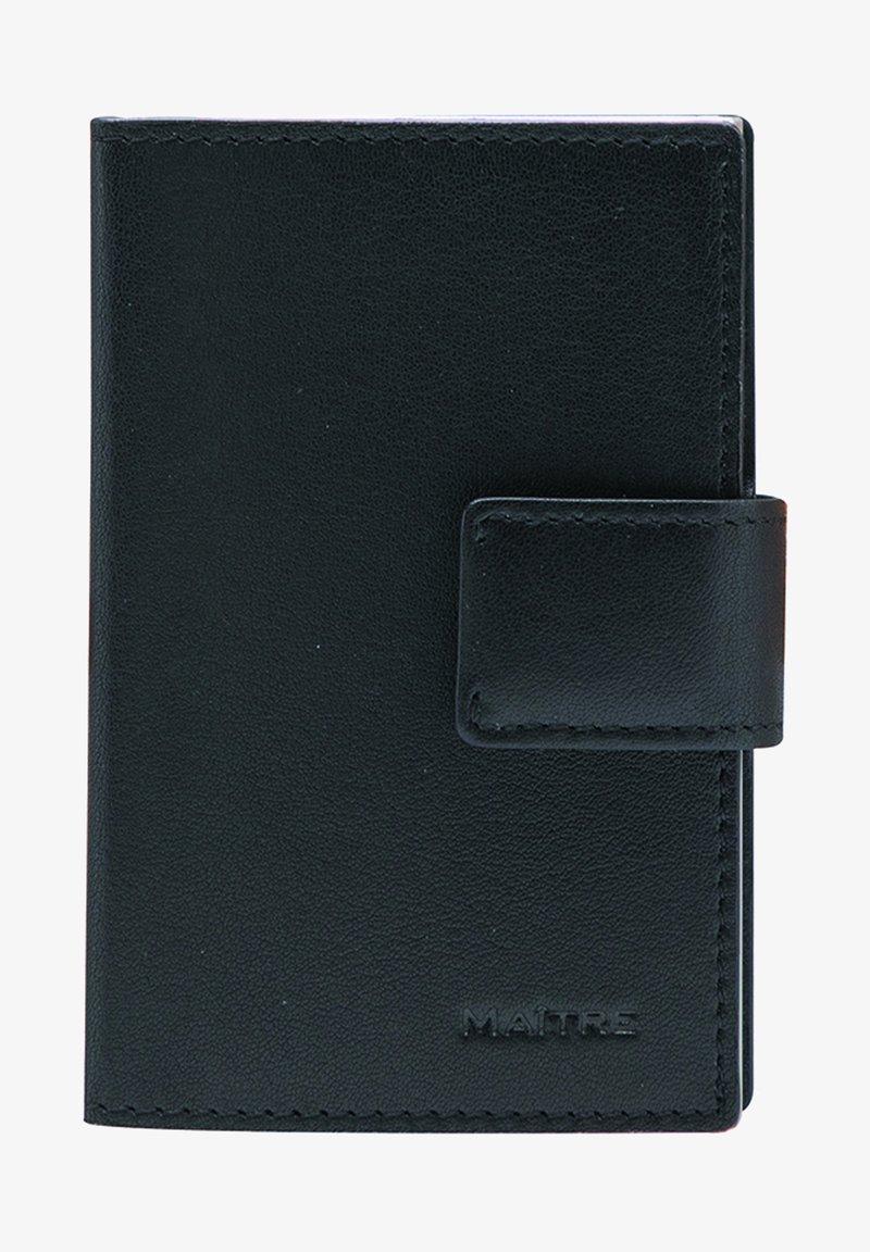 MAITRE - Business card holder - black
