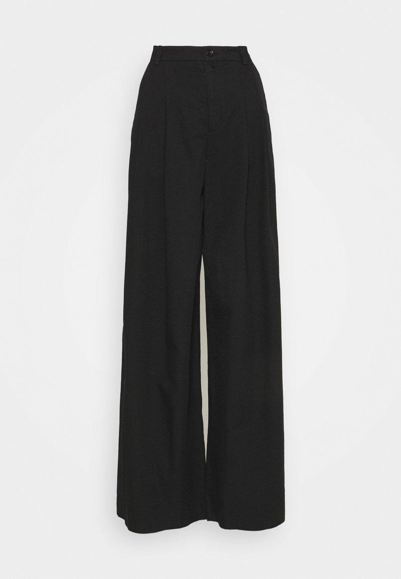 DRYKORN - ELATE - Trousers - schwarz