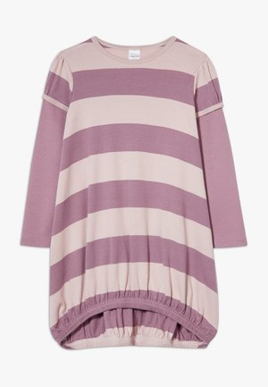 STRIPE DRESS - Jerseyjurk - shadow