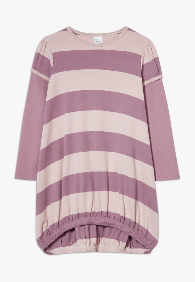 STRIPE DRESS - Jersey dress - shadow