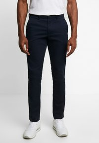 GAP - ESSENTIAL SLIM FIT - Chinot - new classic navy - 0