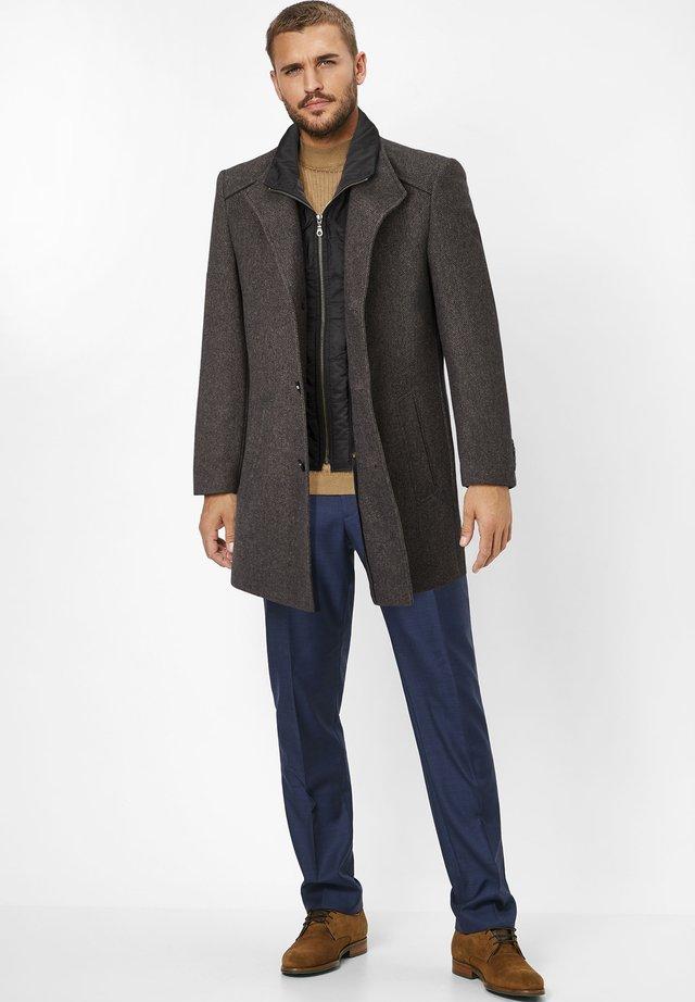 NEWTON  - Short coat - grey black check