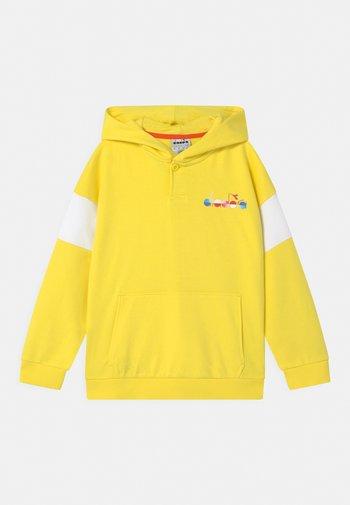 HOODIE CLUB UNISEX - Zip-up sweatshirt - celandine