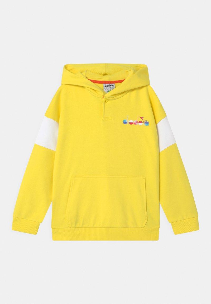 Diadora - HOODIE CLUB UNISEX - Zip-up hoodie - celandine