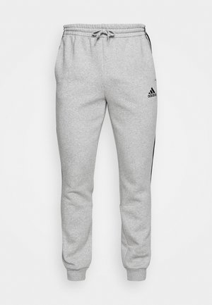 CUT - Jogginghose - medium grey heather/black