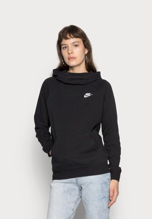 Jersey con capucha - black/white