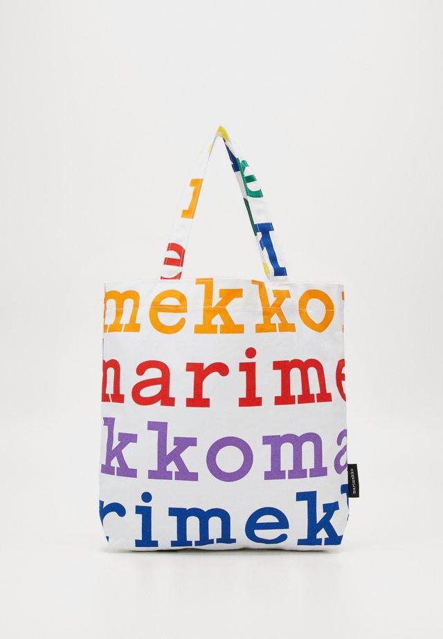 NOTKO LOGO BAG PRIDE CAPSULE - Shopping Bag - multicolored