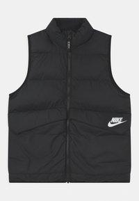 Nike Sportswear - UNISEX - Veste sans manches - black/white - 0