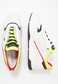 Azzaro - JOGG - Trainers - blanc/noir/jaune - 1
