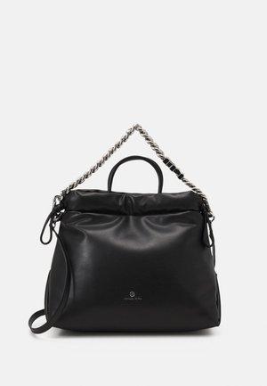 LINA DRAWSTRING TOTE - Tote bag - black