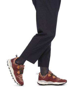 Sneakers basse - bordeaux
