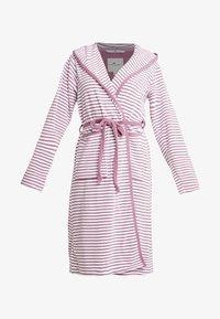 TOM TAILOR - STRIPE BATHROBE - Dressing gown - mauve - 4