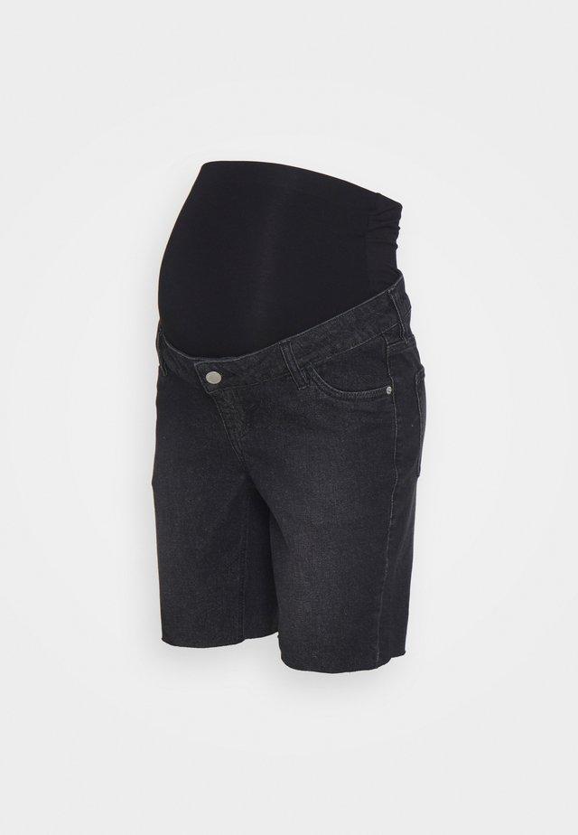 LONGER BOY  - Shorts di jeans - washed black
