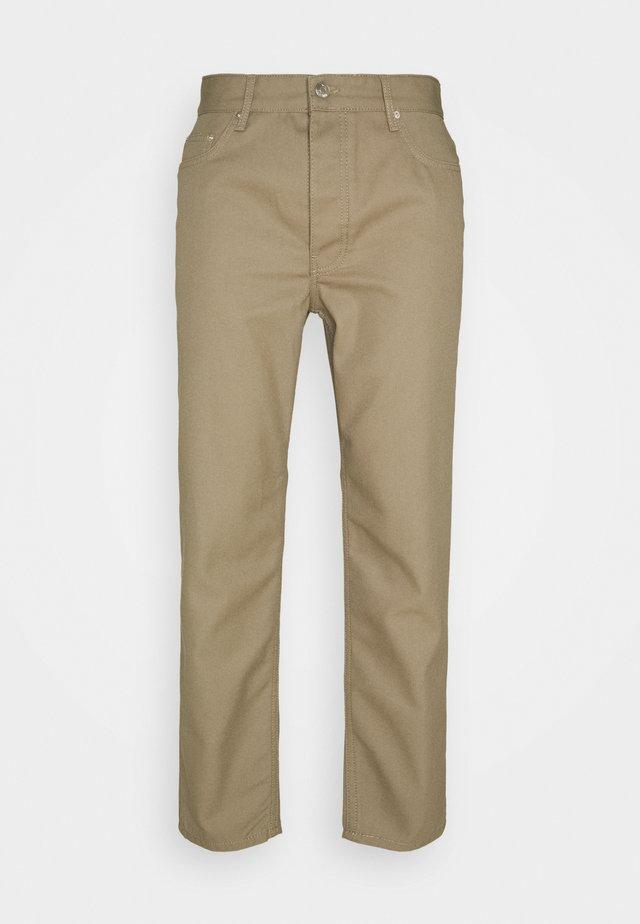 BEN - Kalhoty - khaki