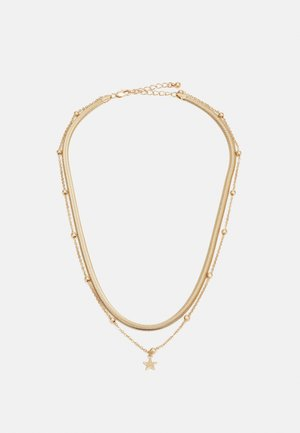 PCSTARINA COMBI NECKLACE - Smykke - gold-coloured