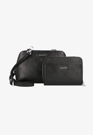CORTINA STAMPA VALERIA  - Across body bag - black