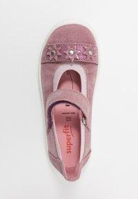 Superfit - TENSY - Ankle strap ballet pumps - lila - 1