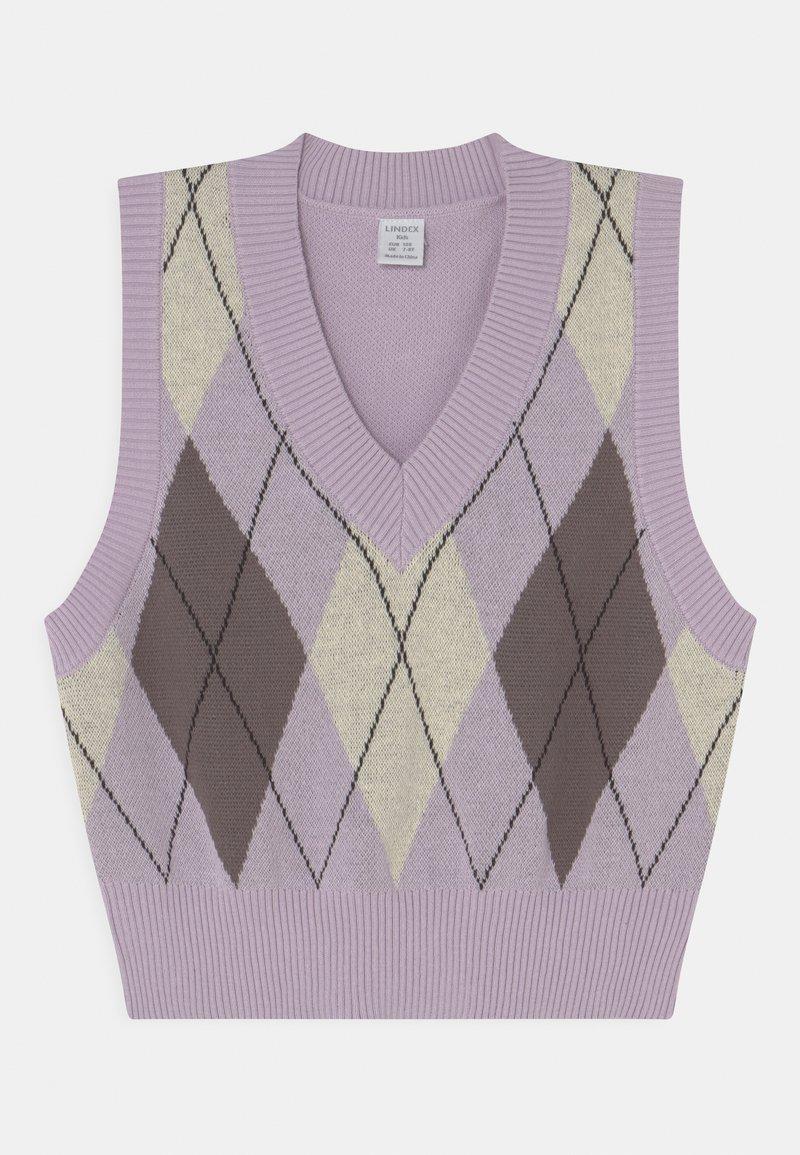 Lindex - MANDY - Strickpullover - light lilac