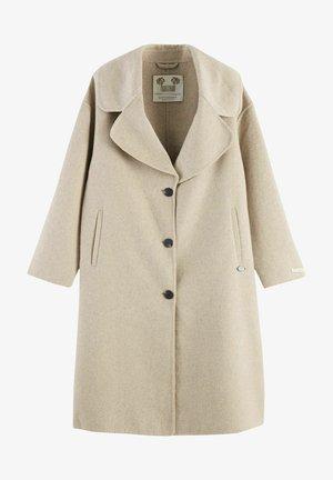 Classic coat - oat melange