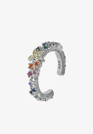 RAINBOW STAR EAR CUFF - Øreringe - silver-coloured