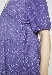 Monki - Day dress - lilac/purple medium dusty - 5