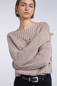 SET - Sweatshirt - beige - 5