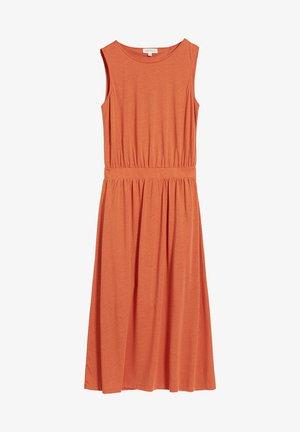 LAMINAA - Jersey dress - orange
